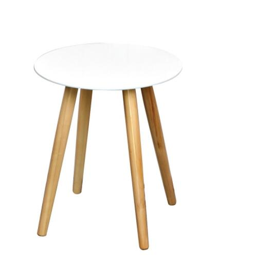 Remarkable Living Room Furniture Mini Modern Design White Round Solid Wood Stool With 4 Wooden Legs Buy Stool Round Stool Wood Stool Product On Alibaba Com Pabps2019 Chair Design Images Pabps2019Com