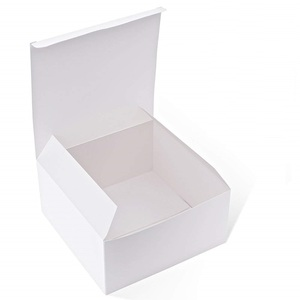 Paper Gift Boxes with Lids for Gifts, Crafting, Cupcake Boxes packaging box