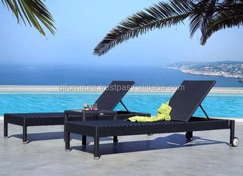 Hotel Furniture Rattan/wicker Foldable Sunbed Folding Chair Beach Chair  Swimming Pool Chair Sun Lounger.   Buy Garden Line Patio Set,Garden Chairs  ...