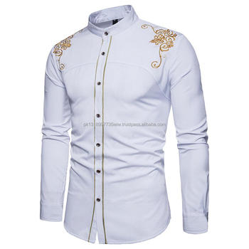 d742705d3a92 Stylish Mens Casual Formal Shirts Slim Fit Shirt Top Long Sleeve Shirts for  Men
