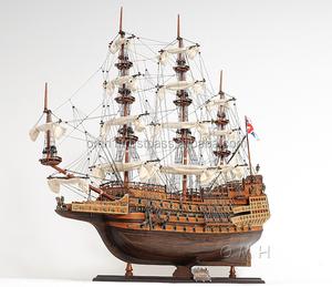 SOVEREIGN OF THE SEAS MEDIUM L60 cm  High quality Wooden Model Tall Ship  Vietnam