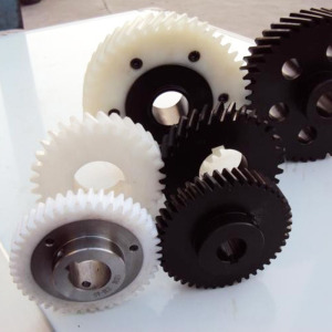 machinery popular use plastic gear for toys motor accept custom to order POM PA PC HDPE material