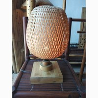 Round bird-cage design bamboo lamp shade, traditional style lamp shades collection now on sale