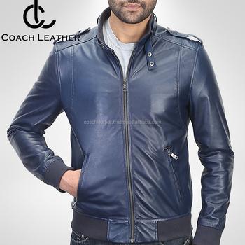 2018 Pakistan Manufacturer Latest Design Leather Jacket L Custom Men
