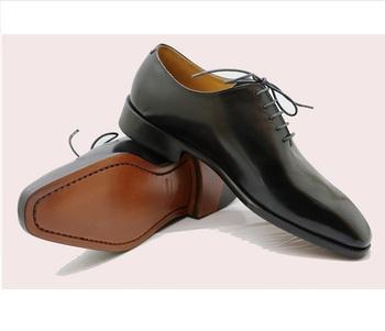 0df6988ee2 sapato de couro genuíno ocasional do oxford do corte inteiro para homens