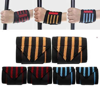 Weight Lifting Training Hand Bar Wrist Wraps Heavy 100% Cotton/World Top Gym Fit All Size Body Building Wrist Wraps