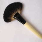 Newest Private Label Kabuki Synthetic Makeup Brush Powder Fan Makeup Brush