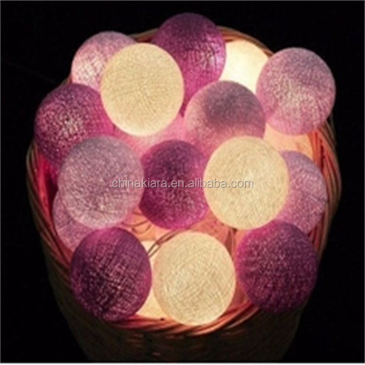 Home Decoration 20Led cotton ball led lights