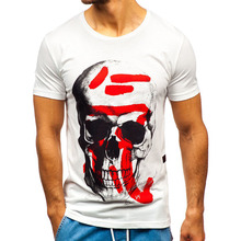 (High) 저 (Quality Fashion Men T Shirt 실크 스크린 Printing 100% 면 Fabric Custom