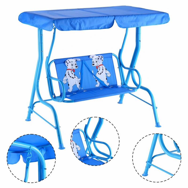 Tremendous Kids Patio Swing Chair Children Porch Bench Canopy 2 Person Yard Furniture Blue Buy Kids Swing With Canopy Porch Swing Swings For Kids Product On Pdpeps Interior Chair Design Pdpepsorg