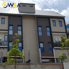 (WA-1566)Portable Prefabricated Houses Steel Frame Structure High Rise Hotel Apartment Building Supplier