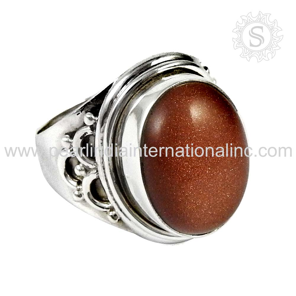 Red sunstone gemstone silver rings traditional 925 sterling silver jewellery