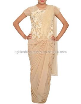 5c84a668649 Designer Saree Gowns - Buy Saree Gown 2018