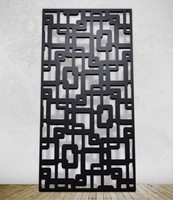 Laser Cut Decorative Metal Partition Room Divider Screen And Panels