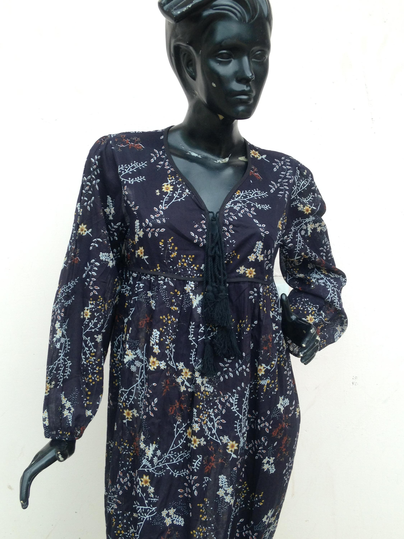 aecc9a2097957 Yeni 2017 son tasarım çiçek baskılı maxi elbise akşam maxi elbise siyah  cilt baskı desen womans