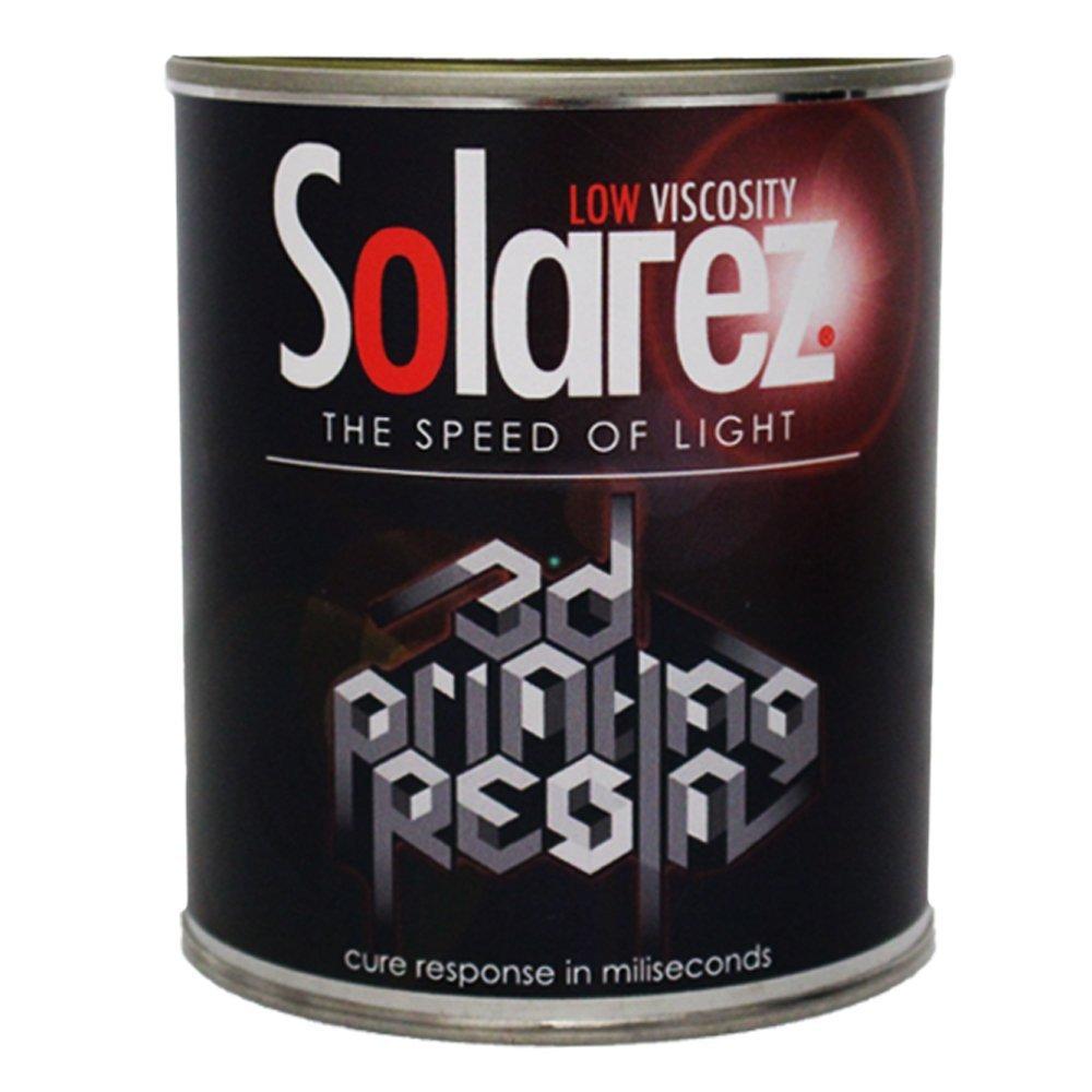 Solarez UV Cure 3-D Printing Resin - Low Viscosity (Gallon)