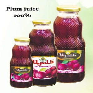 0, 75L plum juice high quality Russian beverages