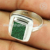 Superb silver ring enamel gemstone jewellery online 925 sterling silver wholesale jewelry