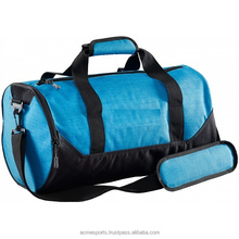 2017 Gym Sports Bag - Good quality design your own gym sport bag in blue & Black Color