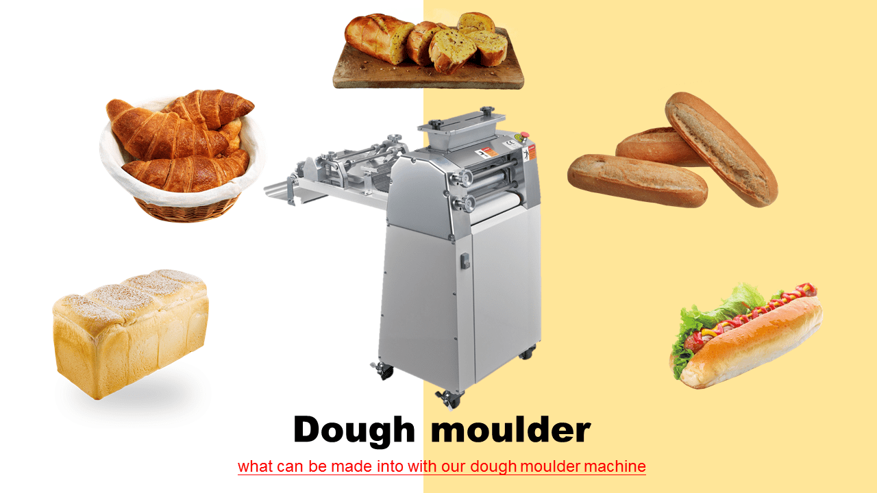 Loaf Bread Dough Moulder Baking Machines From Taiwan