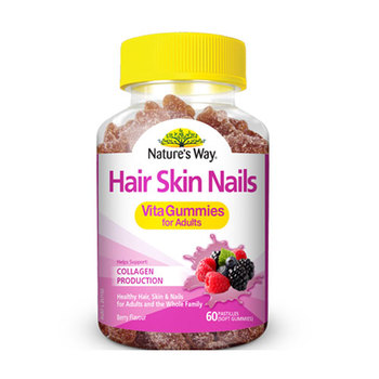 New Arrival Hair Skin Nails Vitamins Supplements Great for Body and Beauty