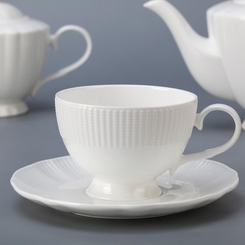 product-Europe style novelty personalized white bone china dinnerware set for restaurant-Two Eight-i
