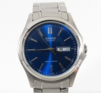 Genuine used wholesale Stainless CASIO MTP-1239DJ watch for wholesale. other brands available too