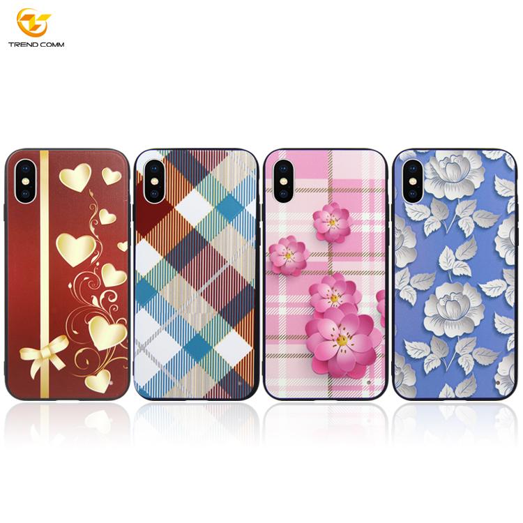 Custom Design UV Print Case For iPhone XS UV Print Case