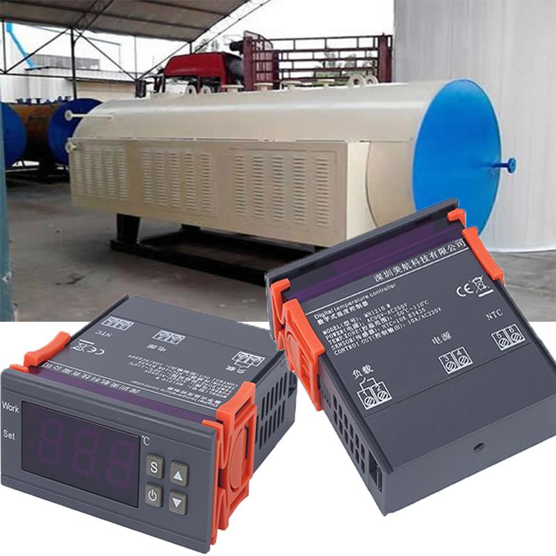 MH1210W Numérique Régulateur De Température-50-110 Celsius Thermostat De Chauffage Frigorifique Régulateur 75*34*85mm Couleur or