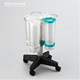 medical disposable suction liner system with filter