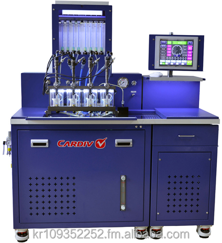 Common rail injector testing equipment V810 with flow sensors made in Korea