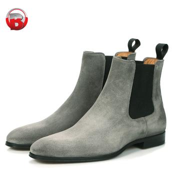 Zapatos Chelsea para Hombre Vestido de Gamuza Zapatos con