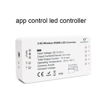 Alexa Google Voice Control DC12-24v Wifi Smart Led Dimmer RGBW สำหรับชีวิตสมาร์ท