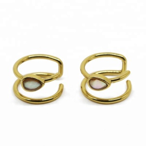 Faux nose ring gold body jewelry non piercing body jewelry