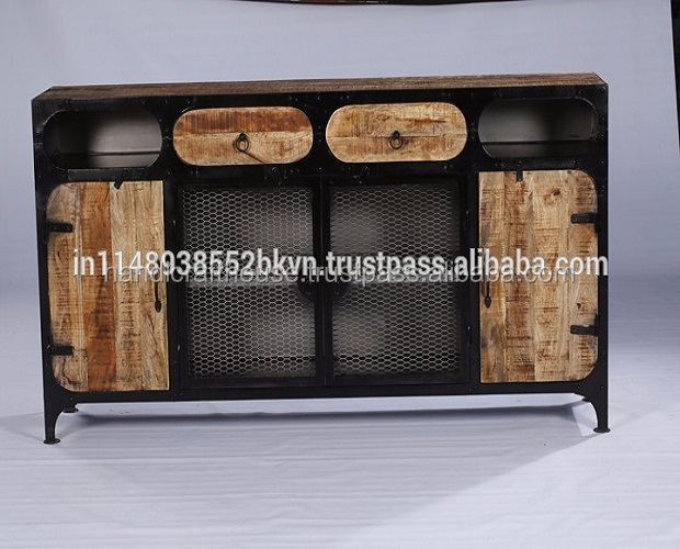 Sideboard Industrial industrial sideboard metal furniture wholesale metal furniture