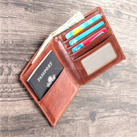 Latest Products In Market For 2017 Mens Passport Wallet - Pure Soft Leather Passport Holder Wallet