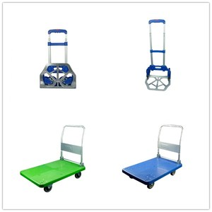 WBD Light weight 70kg industrial foldable hand truck Carry Trolley
