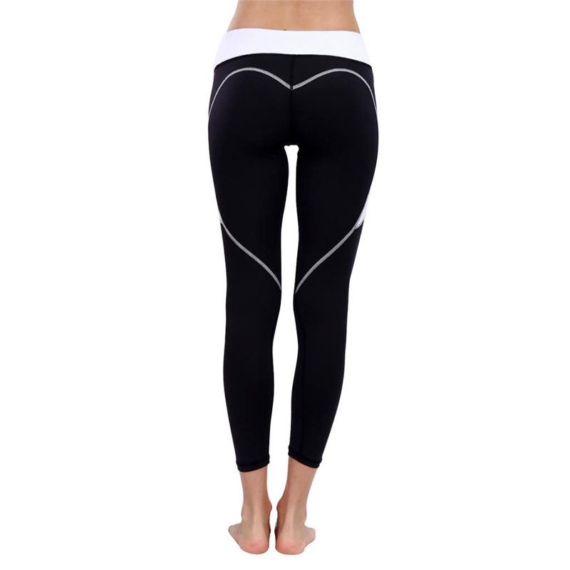 Perfeclan Womens Skinny Yoga Pants Gym Fitness Slimming Yoga Leggings Over Feet With Pocket