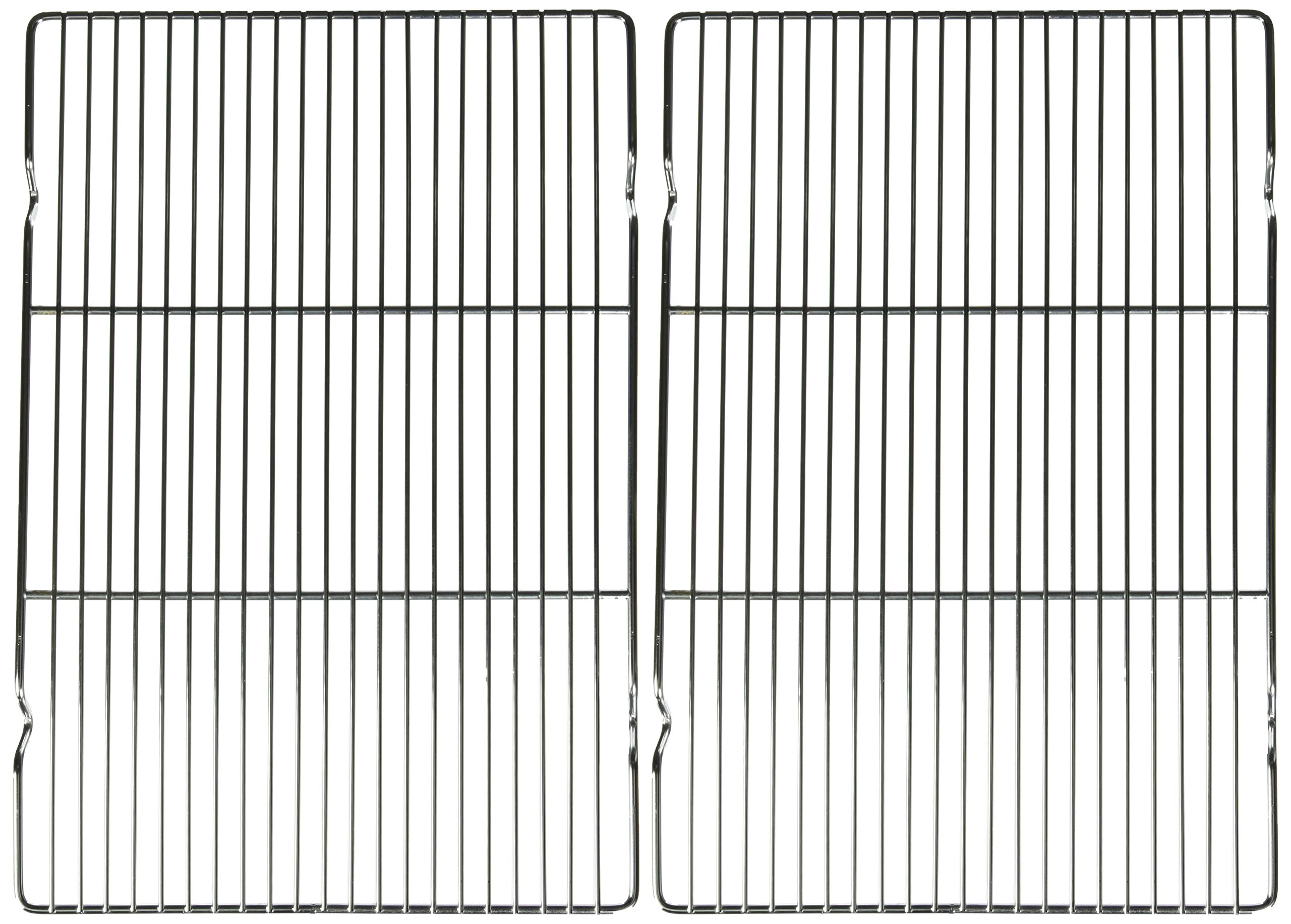 Nickel Chrome Plating Pack of 2 Industrial Bakery Equipment WS82W Cooling Rack