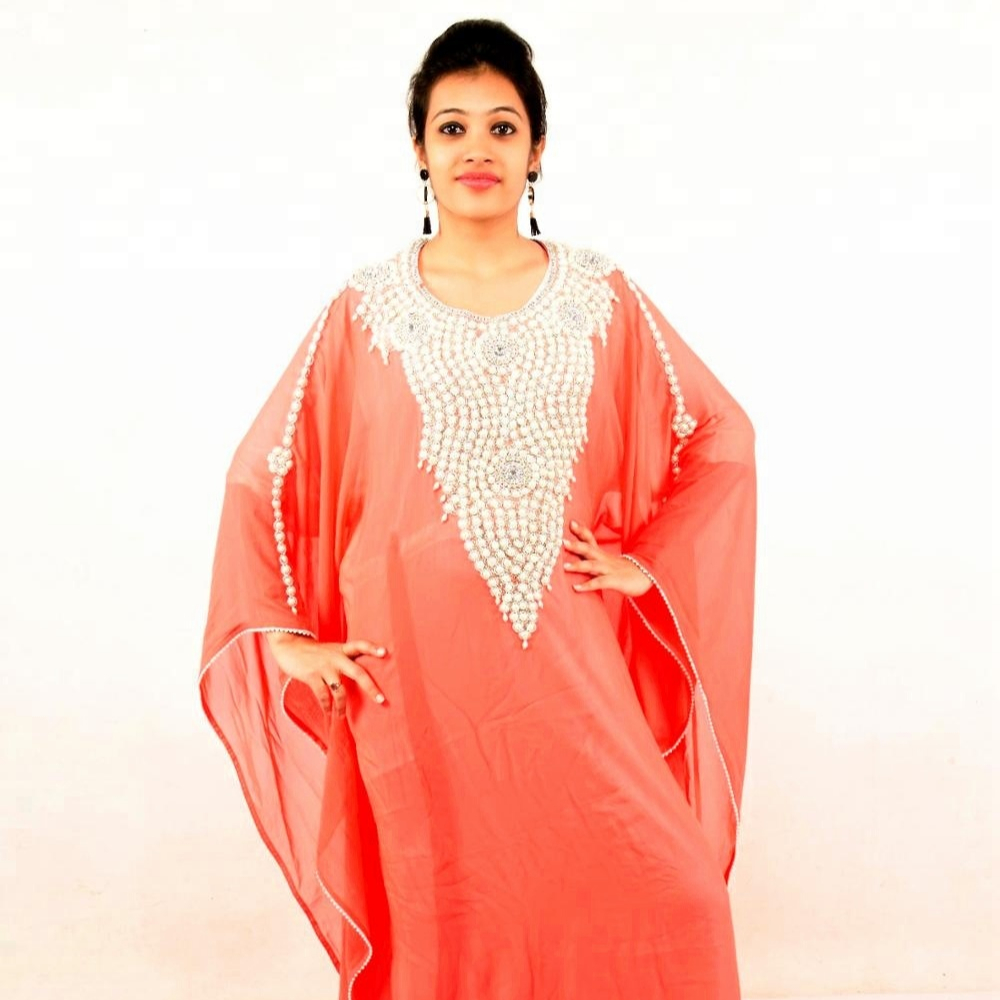 Dubai Kaftan Partywear Jalabiya Wedding Dress Kaftan Style No0321
