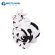 Custom high quality cute soft plush cow throw blanket for baby