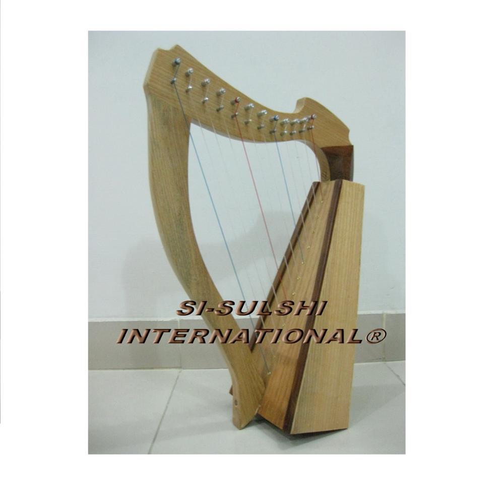 12 STRING CELTIC Rosewood IRISH HARP