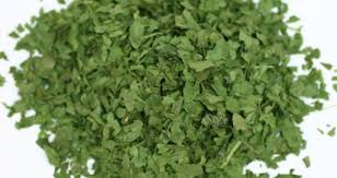 Dried dehydrated parsley leaves granules / Air Dried Parsley pieces