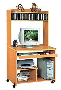 Smart Home Liam Desktop Tower Computer Desk (Large, Golden Beech)