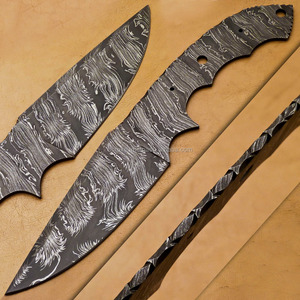 Wholesale Price Damascus Knife Blanks