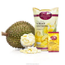 Durian Freeze Dried / Freeze Dried Fruit 100% Sweet Natural Premium Crispy Fruit Snack Thailand Hot Sale