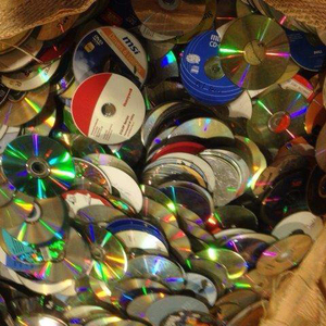 CD Scrap /PC CD Metalized DVD Scraps