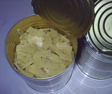 Fresh And Clean Canned Strips Bamboo Shoot In Tin For Vegan