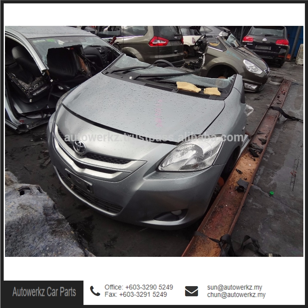 Good Condition Toyota Vios NCP93 Half Cut Body Kit Car (Silver) from Malaysia