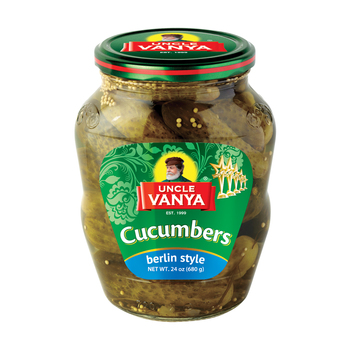 Pickled Cucumbers Berlin style (6-9 cm)